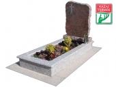 1személyes fedetlen gránit r sírkő-0021