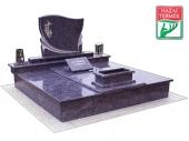 2személyes fedett gránit d sírkő-0119