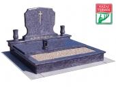 2személyes fedett gránit cs sírkő-0122
