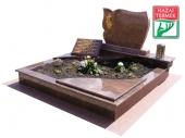 2személyes fedett gránit cs sírkő-0359